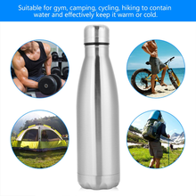 350ML 500ML 750ML Stainless Steel Water Bottle Vacuum Flask Single Layer Coke Sports