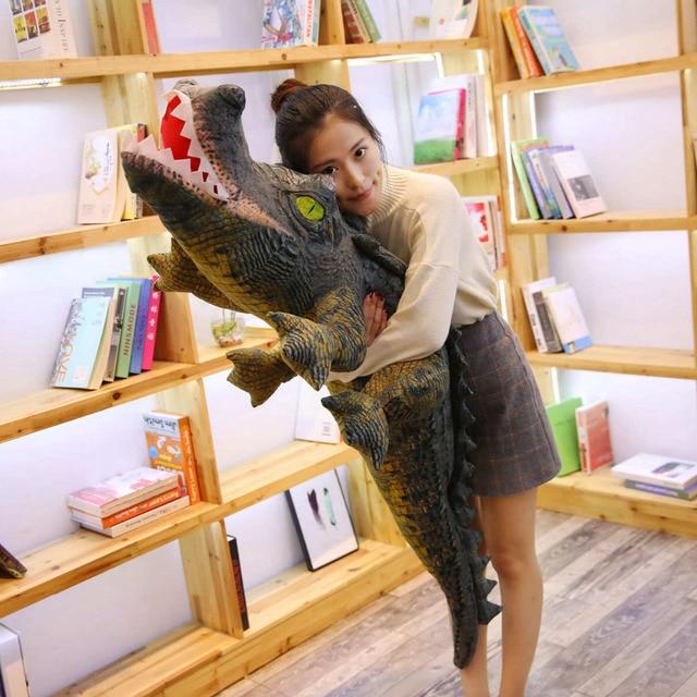 Crocodile Plush Pillow