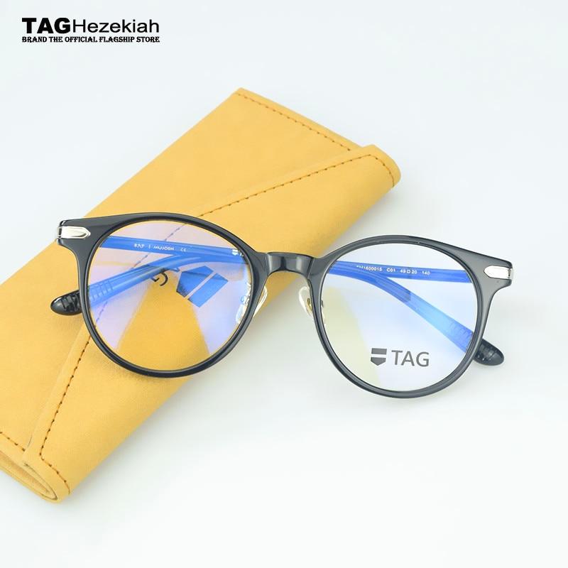 2019 round eyeglasses frames women brand designers men retro Half frame Computer Eye Glasses Frames oculos de grau clear glasse(China)