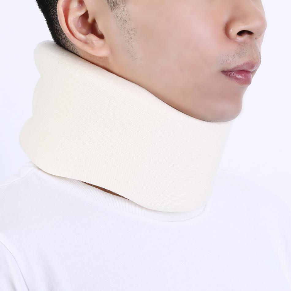 Soft Foam Neck Brace Spine Back Support Medical Cervical Collar Vertebra Dislocation Fixation Pain Relief Orthosis Neck Care(China)
