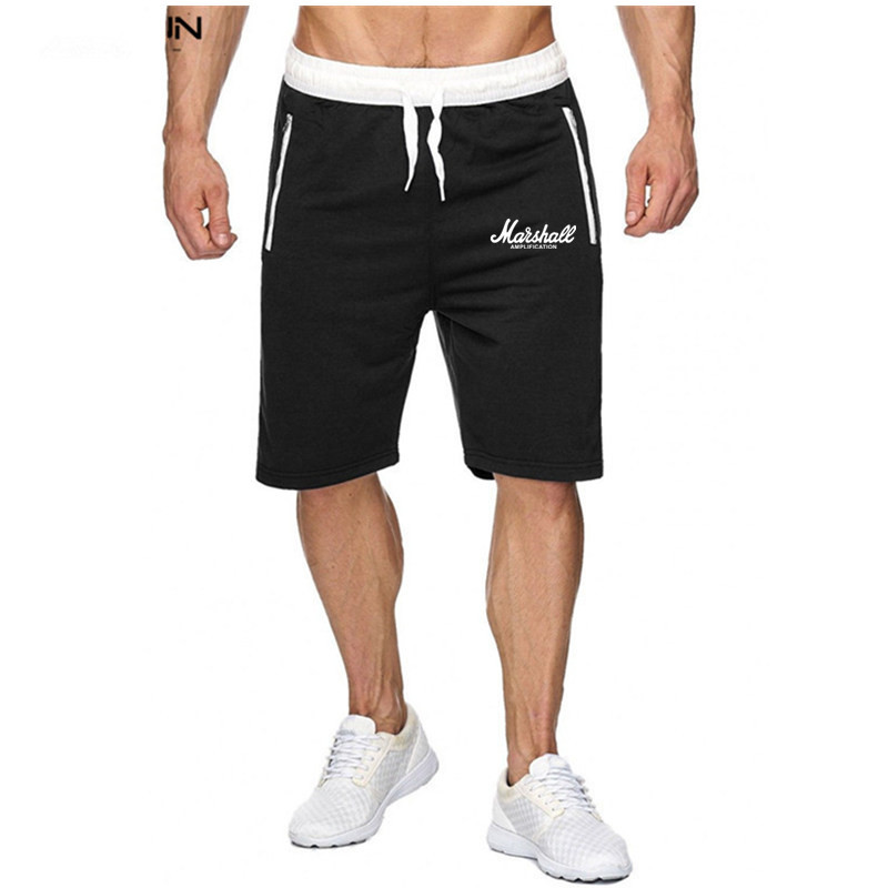 Hot-Selling Summer New Man's Marshall Shorts Casual Fashion Sweatpants Fitness Short Jogger Streetwear For Fans Hipster Shorts