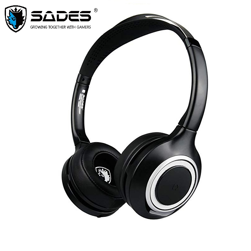 SADES D805 Wireless Bluetooth Headset Earphones Headphones Noise Reduction For Cell Phone/Skype