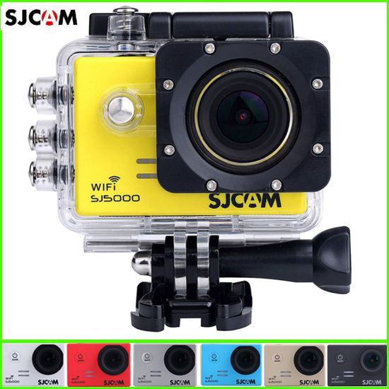 Original SJCAM Sj Wifi Action Camera Helmet Camcorder Digital Camera P Full