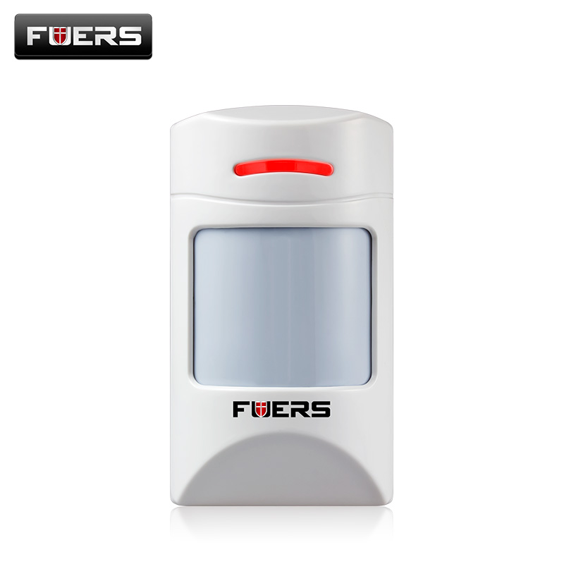 Fuers Wireless Intelligent anti-Pet-immunity PIR Motion Sensor Detector For Home Security Burglar pet-friendly Alarm System wireless vibration break breakage glass sensor detector 433mhz for alarm system
