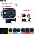 SJCAM Sj5000 Series SJ5000X Elite WiFi 4k Waterproof Sports Action Camera Sj Cam DV +A Battery+Charger + Car Charger+Suction Cup