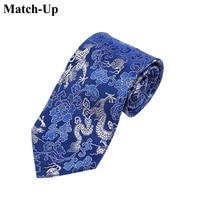 2016 nuovo stile Cinese caratteristiche regali yunjin drago totem cravatta 9