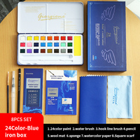 24color blue box