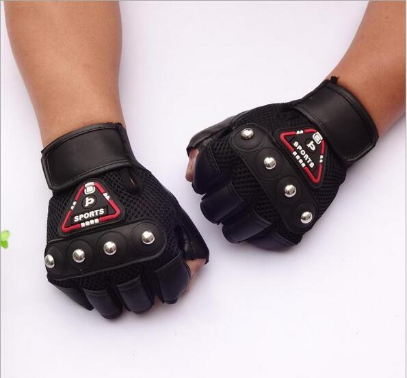 Leather Half Finger Fight Boxing Gloves Mitts Sanda Karate Sandbag Taekwondo Protector For Boxeo Mma Muay Thai Kick Boxing Y27 1