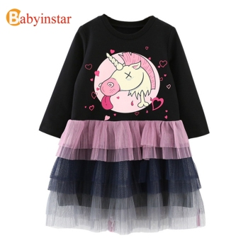 New Children Girls Clothing Sets Outfits For Girls Unicorn TUTU Skirts Set Kid's Clothing Baby Girls Clothes Kid's Apparel