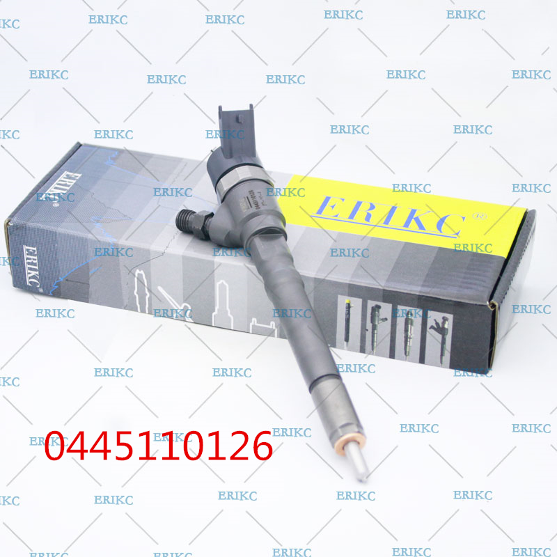 все цены на ERIKC 0445110126 (33800-27900) Common Rail Injector 0 445 110 126 Fuel injector nozzle assy For HYUNDAI Santa онлайн