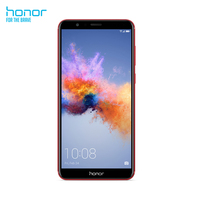 Honor 7X 15.1 cm (5.93 inches) 4GB 64GB 16MP Android 7.0 black red
