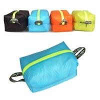 Ultraleicht Tragbare Wasserdichte Schuh Tasche Multi-funktion Im Freien Reise Home Storage Organizer Fall Zipper Toiletry Make-Up