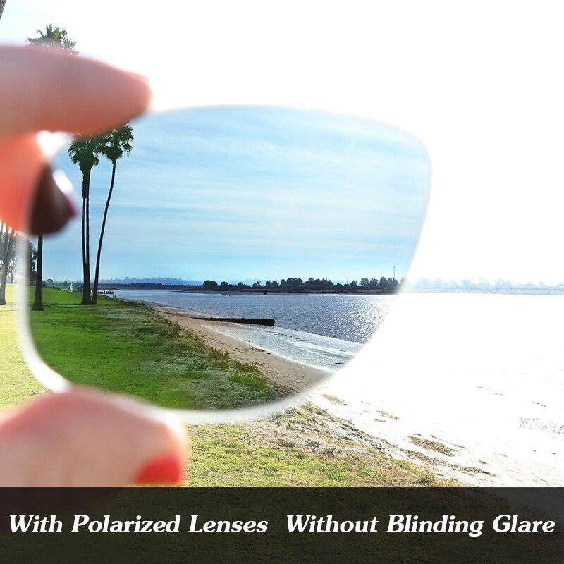 Медь коричневый ПОЛЯРИЗОВАННЫЕ замены Оптические стёкла для Радар Путь вентилируемый Солнцезащитные очки для женщин Рамки 100% UVA и UVB Защита