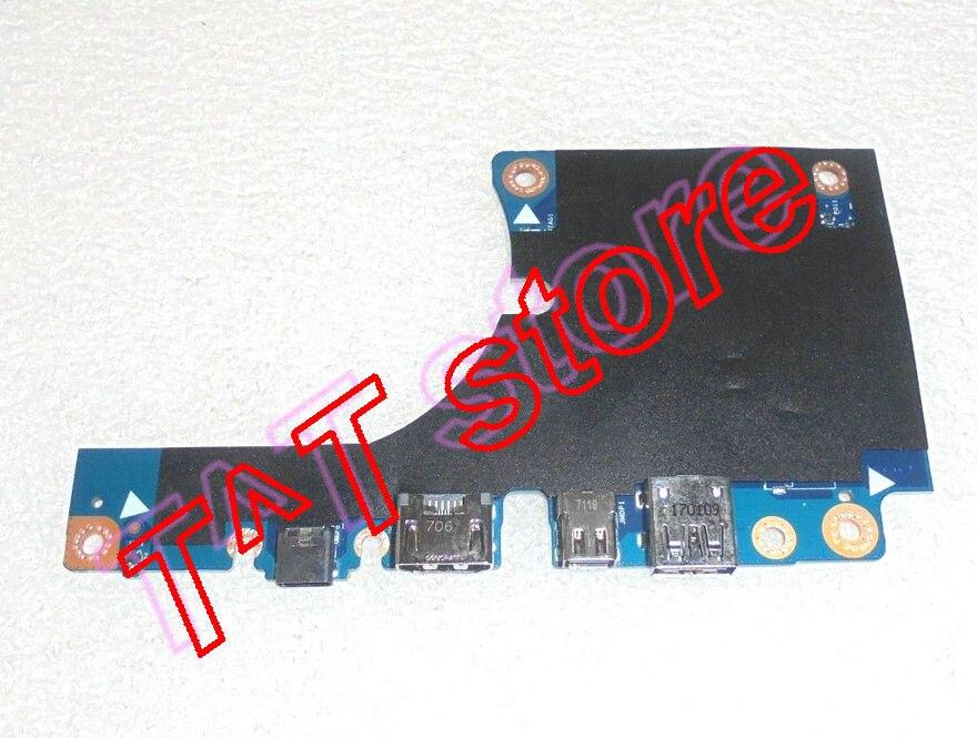 original FOR PRECISION 7720 M7720 USB MINI DP HDM USB BOARD CAP10 LS-E326P test good free shipping