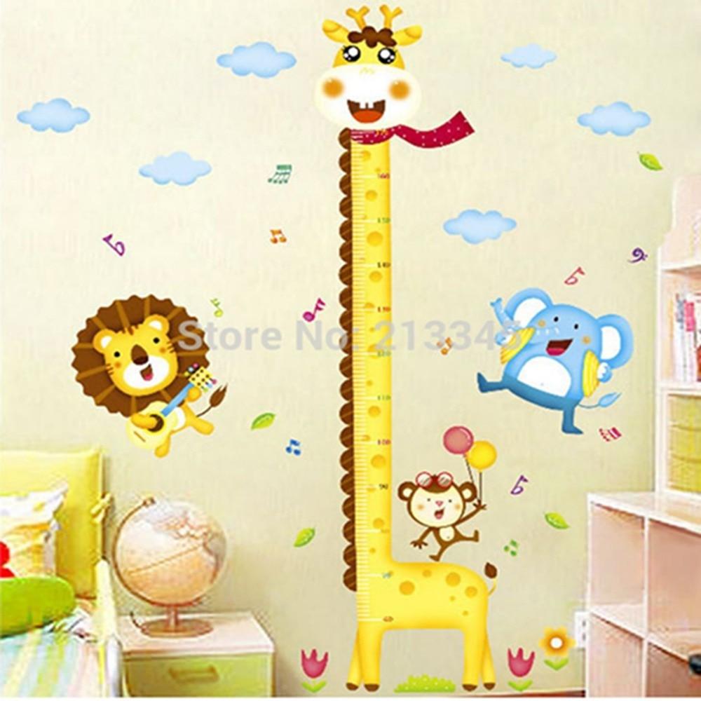 Popular giraffe wall decor buy cheap giraffe wall decor for Baby decoration wall