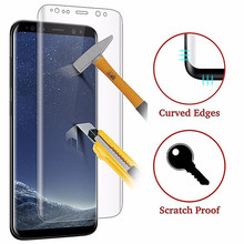 Full Curved Film For Samsung Galaxy S10 Plus S8 S9 Plus Note 8 S7 S6 Edge Soft Screen Protector For Samsung S9 ( Not Glass )(China)