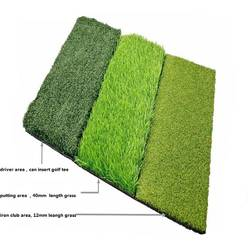 Портативный зеленый Крытый гольф с искусственным дерном
