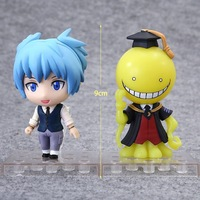 hot-new-2pcsset-9cm-assassination-classroom-korosensei-shiota-nagisa-kayano-kaede-action-figure-toys-doll-christmas-gift