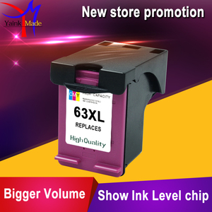 Image 3 - BK+Tri colors Remanufactured for HP 63 ink cartridge compatible for HP 3830 4650 1112 2130 2132 3630/3632 printers