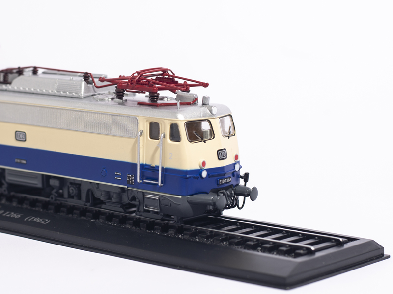 ATLAS EDITIONS 1 87 Baureihe E 10 1266 1962 COLLECTIONS LIMITED EDITION TRAIN MODEL in Diecasts Toy Vehicles from Toys Hobbies