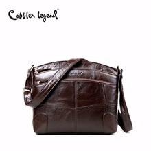 Cobbler Legend Brand Designer Women's Crossbody Bag Genuine Leather Shoulder Bags For Female Casual Bag Ladies Handbag 0910006-1 цена