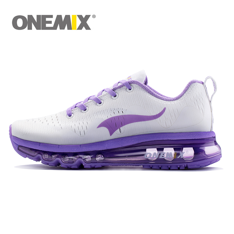 ONEMIX Air Running Shoes For Women Hommes Sport Breathable Air Mesh Athletic Outdoor Shoes Athletic Walking