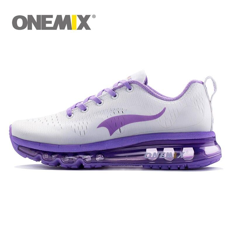 Новый Onemix Air Бег обуви для женщин Hommes Спортивная из дышащего сетчатого материала Спортивное Открытый Обувь Спортивное Прогулки кроссовки