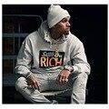 Aolamegs Kanye West Das Mulheres Dos Homens Hoodies Roupa Com Capuz da Camisola 2016 Moda Alta Streetwear Do Vintage Além de Veludo Capuz