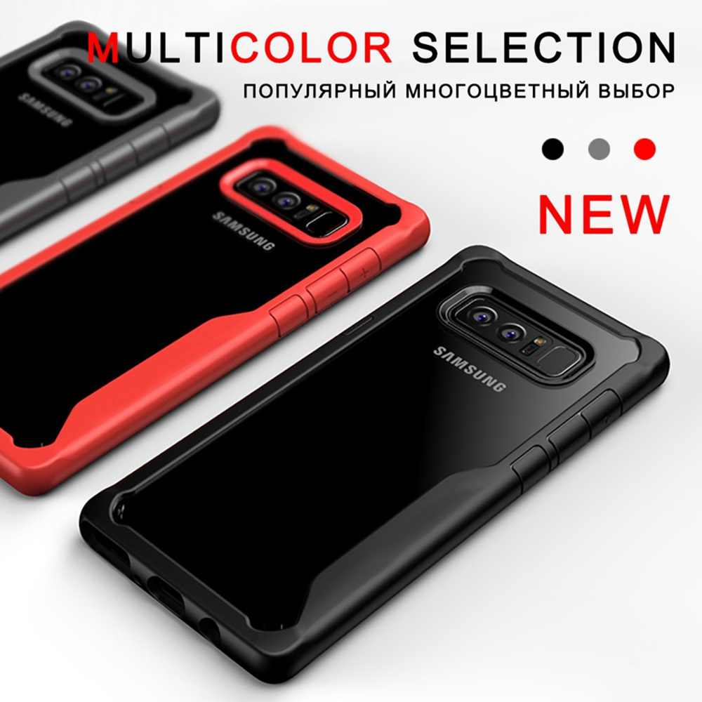 Caso Para Samsung S10 Lite Case For Samsung Galaxy A7 9 A6 Tampa À Prova de Choque Para Galaxy Note 2018 Caso De Luxo 2018 S9 S8 Mais Caso