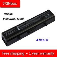 7 XINbox 2600 mAh 14.8 V Bateria Do Portátil Para Dell Insprion 1440 1525 1526 1545 1546 1750 K450N RN873 RU586 XR693 X284G J414N HP297