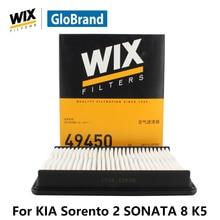 WiX  car air Filter 49450 for KIA Sorento 2 2.4L SONATA 8 K5 auto part