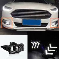 2 * белые светодиодные дневные ходовые огни DRL для Ford Mondeo 2013-2016