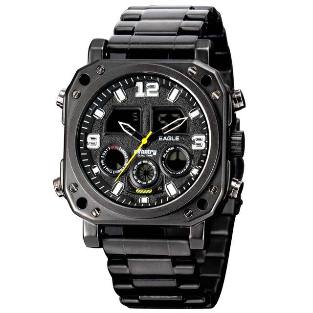 1da22a29053 placeholder INFANTARIA Militar Assista Men Digital LED relógio de Pulso Mens  Relógios Marca Top Esporte Tático Preto
