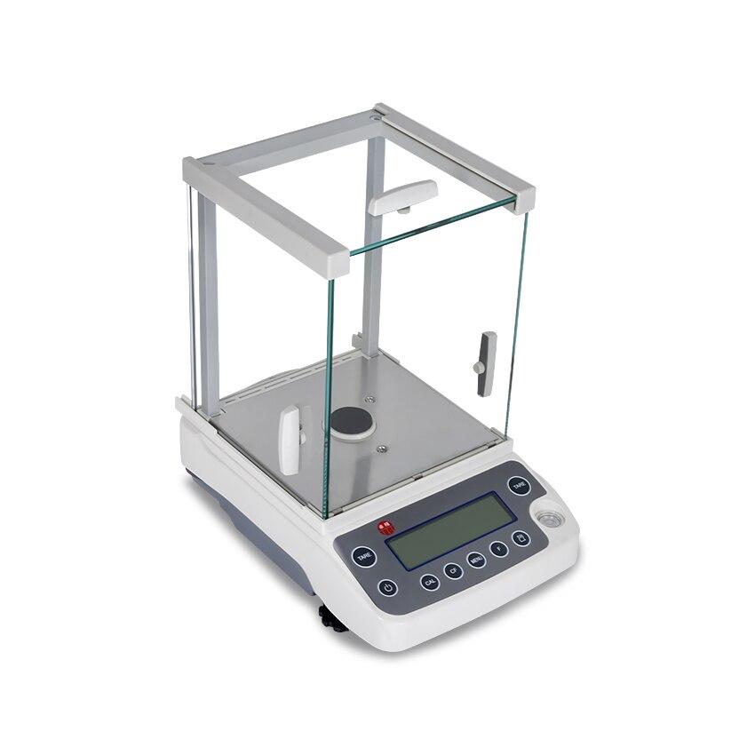 Nouvelle précision 1/10000 Balance analytique haute précision laboratoire Balance analytique Compensation de température Balance 220g/120g