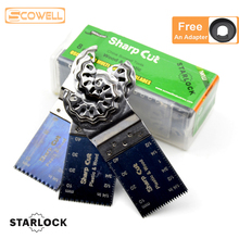 30% Off 8 PCS / Box Starlock Oscillating Multi Tool Saw Blades Plunge Saw Blades For Starlock system Oscillating Tools machine self ordered fronts under oscillating zero mean forces