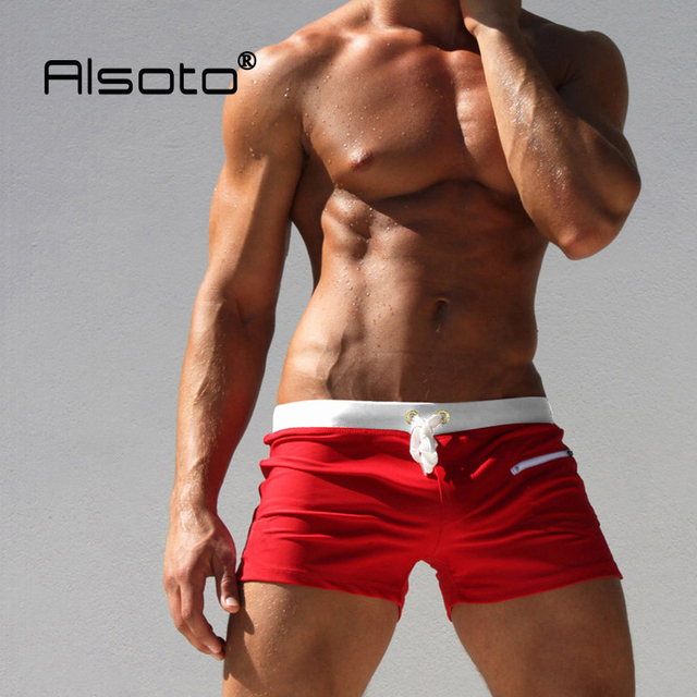 f138a2753ca New Swimwear men swimsuit Sexy swimming trunks sunga hot mens swim briefs Beach  Shorts mayo sungas de praia homens calzoncillos