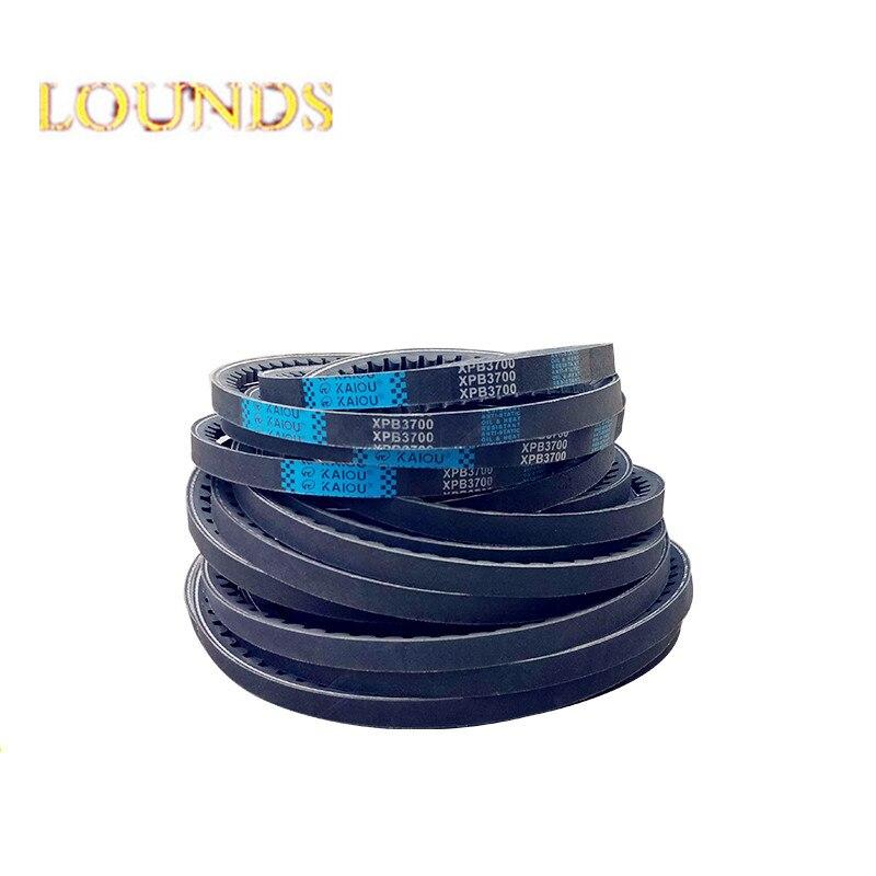 FREE SHIPPING XPB2580 XPB2600 XPB2650 XPB2680 XPB2690 XPB2700 WEDGE RAW EDGE COGGED V-BELT La Industry Rubber XPB Vee V Belt