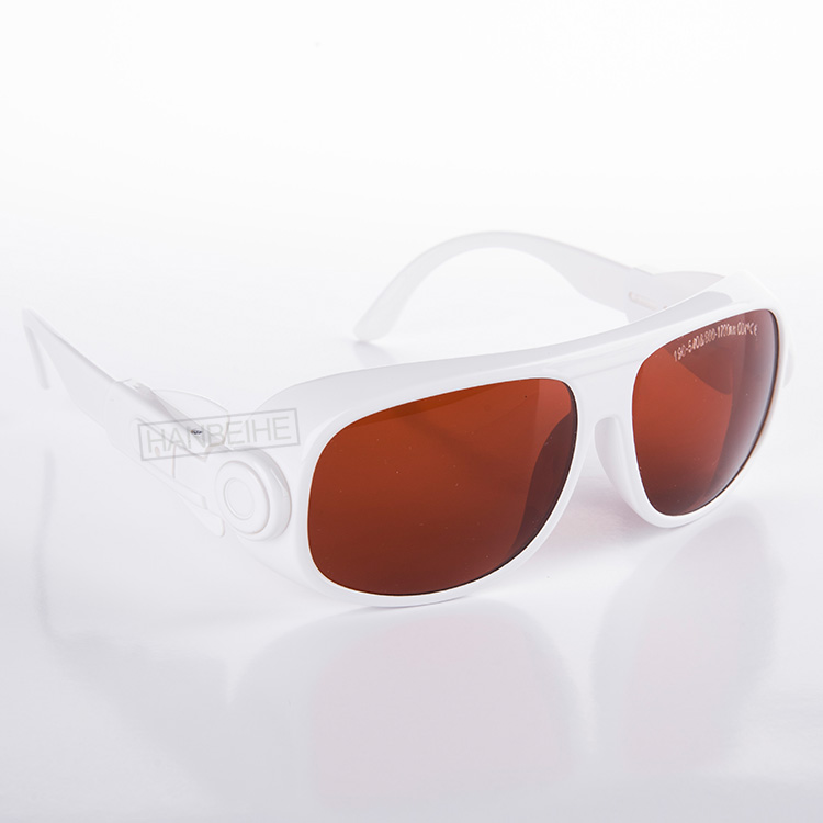 O.D 4+ laser safety glasses for 190-540nm and 800-1700nm, included 405 450 473 530 532 and 808 810 980 1064 1320nm lasers