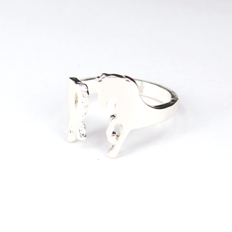 hzew simple horse ring cute horse rings for gift in Rings from Jewelry Accessories