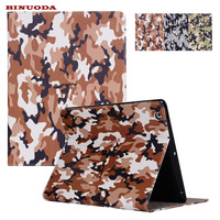 New Camouflage Design Folio Book PU Leather Stand Tablet Cover Case For IPad 4 3 2