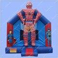 Casa do Salto Inflável do homem aranha, Superhero Ligação Em Ponte Inflável, homem aranha Pulando do Castelo para o Aluguer de
