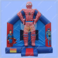 Spiderman Inflatable Bounce House, Superhero Inflatable Jumper, Spider man Jumping Castle for Rental