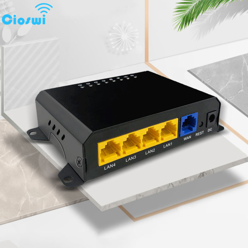 Cioswi Gateway Wired Router Control The Network of All Online Devices View And Set Network Status of the device In Real Time