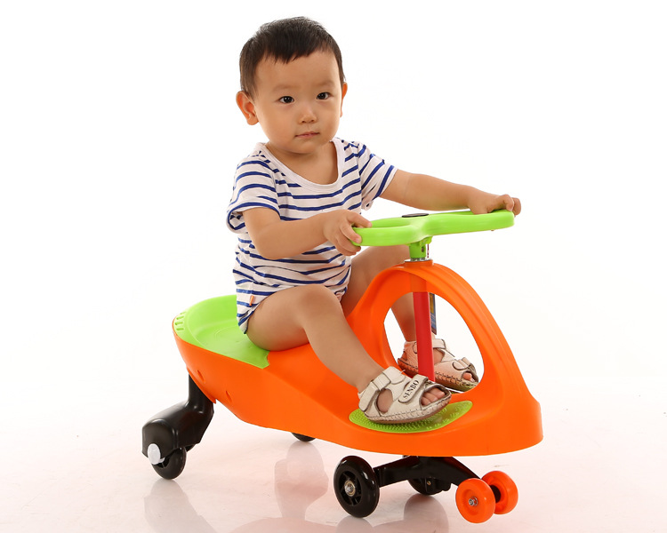 Free Shipping Factory direct wholesale children's classic twist car swing car купить