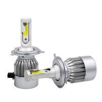 H4 LED Car H7 Headlight C6 H1 H3 Headlamp Light H8 H11 HB3 9005 HB4 9006