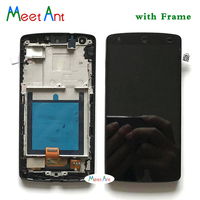 10pcs/lot High Quality 4.95'' For LG Google Nexus 5 D820 D821 LCD Display Screen With Touch Screen Digitizer Assembly