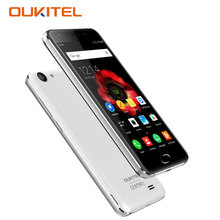 Oukitel K4000 Plus Smartphone Android 6.0 2GB RAM 16GB ROM Quad Core 5.0 Inch Mobile Phone 4100mAh 8MP Touch Android Cell Phones