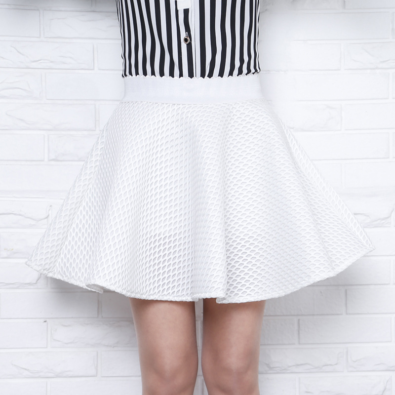 Мини юбки купить белые