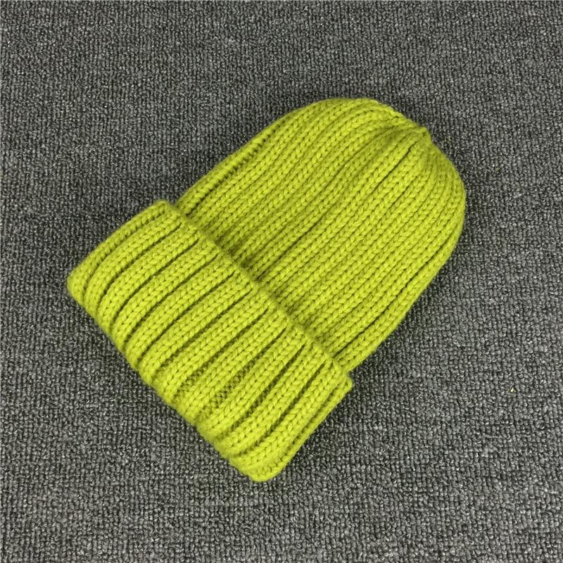 a65217e36 US $9.74 |New 14 Colors Twist Knitted Wool Beanie Skullies Winter Warm  Woolen Light Green Gorros Hats Women Knitted Plain Cap Beanies-in Skullies  & ...