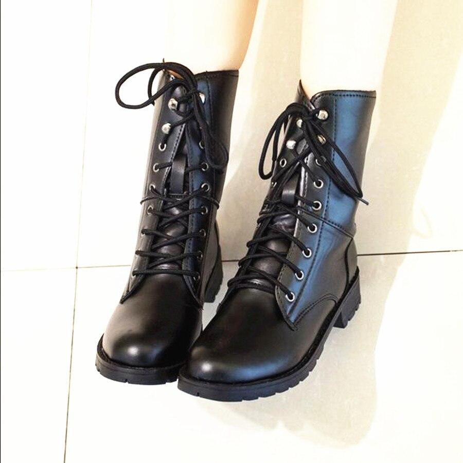 Online Get Cheap Black Women's Work Boots -Aliexpress.com ...